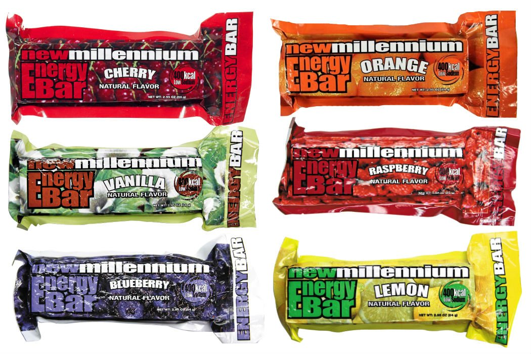 Millennium Energy Bars Assorted Flavors