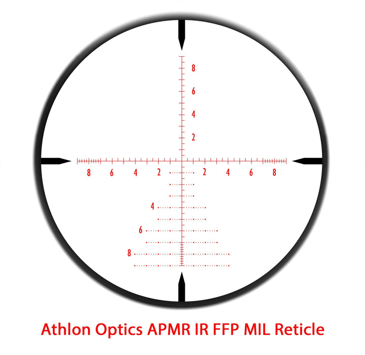 Athlon Optics Argos BTR 30mm 6-24x50mm FFP APMR IR MIL 214061 + Shade FREE SHIPPING