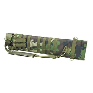 VISM by NcSTAR CVSCB2917WC TACTICAL SHOTGUN SCABBARD/WOODLAND CAMO