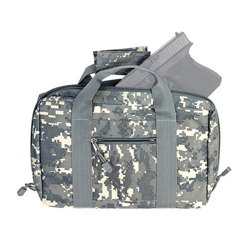 VISM by NcSTAR CPD2903 DISCREET PISTOL CASE/DIGITAL CAMO ACU