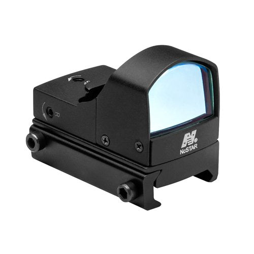 NcSTAR DDABL COMPACT TACTICAL BLUE DOT REFLEX SIGHT/WEAVER BASE/BLACK