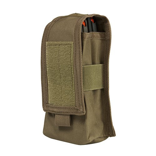 VISM by NcSTAR CV2MRP2972T 2 AR/AK MAGAZINES OR RADIO POUCH/ TAN