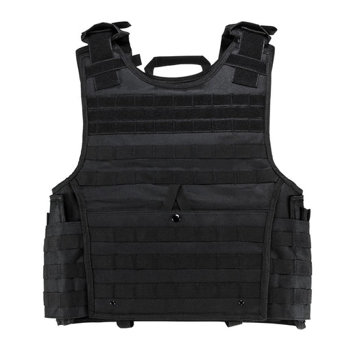 "VISM by NcSTAR CVPCVXL2963B EXPERT PLATE CARRIER VEST (UP TO 11""x14"" ARMOR PLATE POCKET)/EXTRA LARGE/BLACK"
