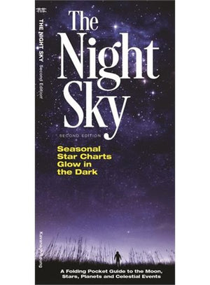 The Night Sky: A Folding Pocket Guide to the Moon, Stars, Planets and Celestial Events (Pocket Naturalist Guides)