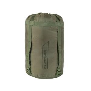 Snugpak Basecamp Sleeping Bag Ops Navigator SQ, Olive, Right Hand Zipper
