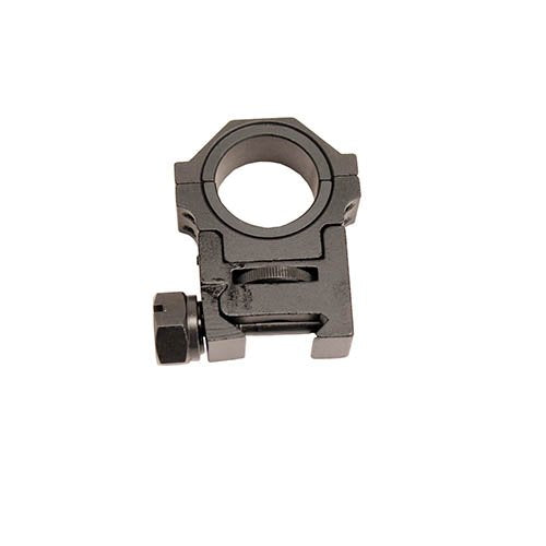 "NcSTAR RAH24 30MM ADJUSTABLE HEIGHT OPTIC RING WITH 1"" INSERT"