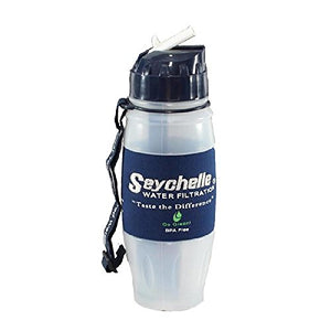 SEYCHELLE 28oz Flip Top Water Bottle Standard Filter