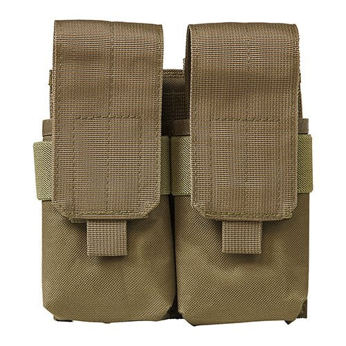 VISM by NcSTAR CV5564MP2976T QUAD MAGAZINE POUCH - TAN