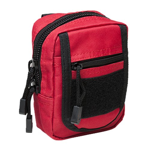 VISM by NcSTAR CVSUP2934R SMALL UTILITY POUCH/RED