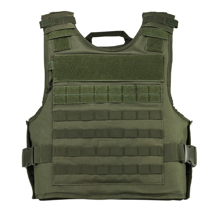 VISM by NcSTAR CVPCVEPL2984G PLATE CARRIER WITH EXTERNAL HARD PLATE POCKETS [2XL+] - GREEN