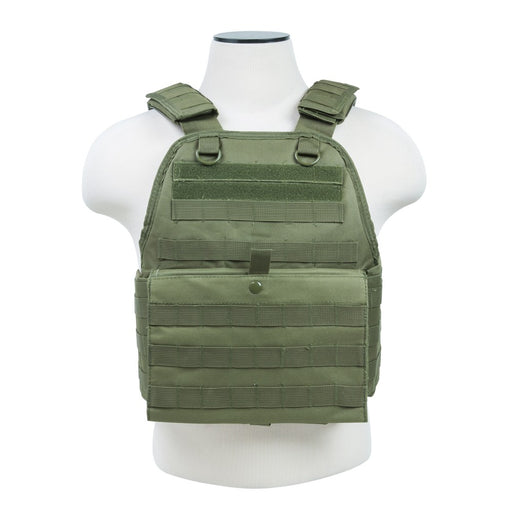 VISM by NcSTAR CVPCV2924G PLATE CARRIER VEST/GREEN