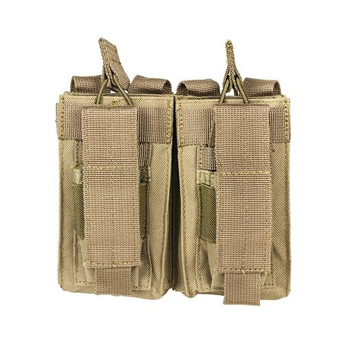 VISM by NcSTAR CVAR2MP2927T DOUBLE MAG POUCH/TAN