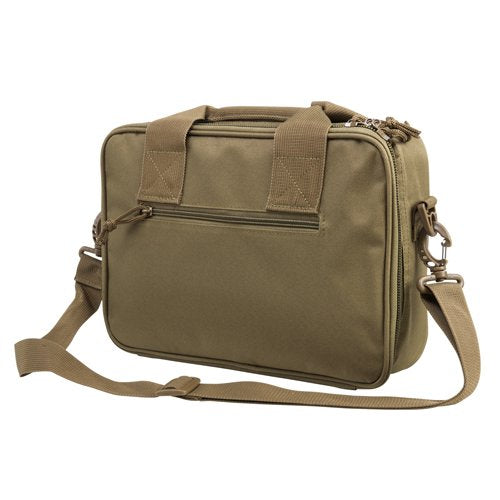 VISM by NcSTAR CPDX2971T DOUBLE PISTOL RANGE BAG/ TAN