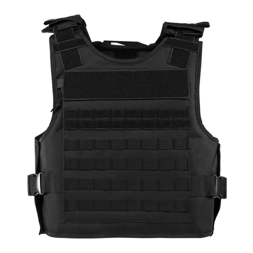 VISM by NcSTAR CVPCVEPL2984B PLATE CARRIER WITH EXTERNAL HARD PLATE POCKETS [2XL+] - BLACK