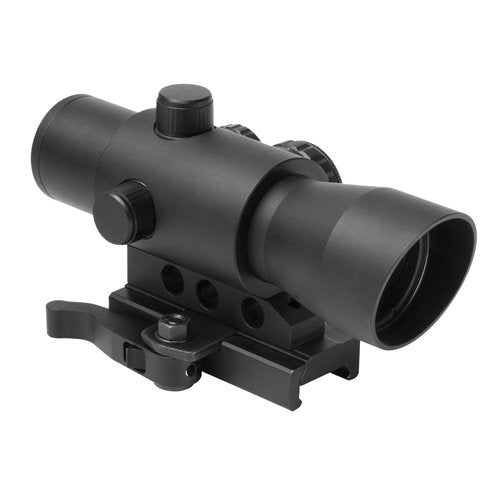 NcSTAR DMRK132A MARK III TACTICAL STYLE WITH 4 DIFFERENT RETICLES / RED - GREEN - BLUE RETICLE/ QUICK RELEASE MOUNT