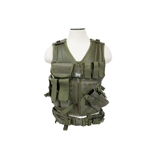 VISM by NcSTAR CTVL2916G TACTICAL VEST/GREEN  XL-XXL+