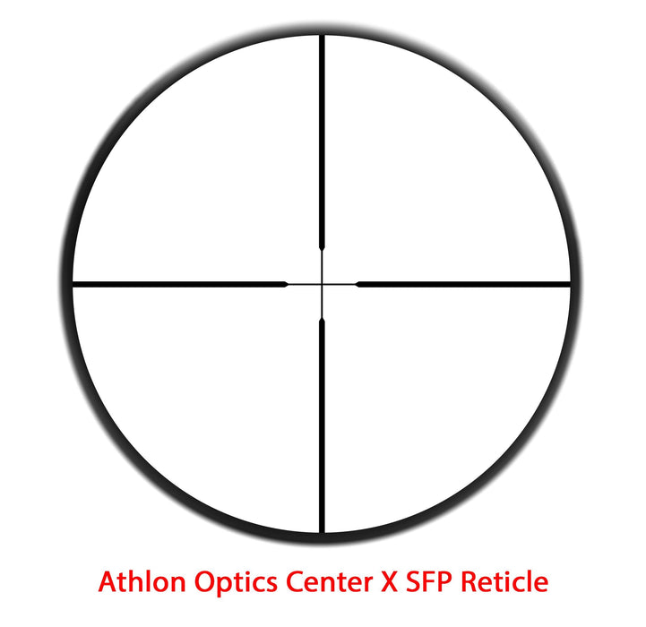 Athlon Optics NEOS 6-18x44 Capped Side Focus 1 inch SFP Center X 216012  FREE SHIPPING