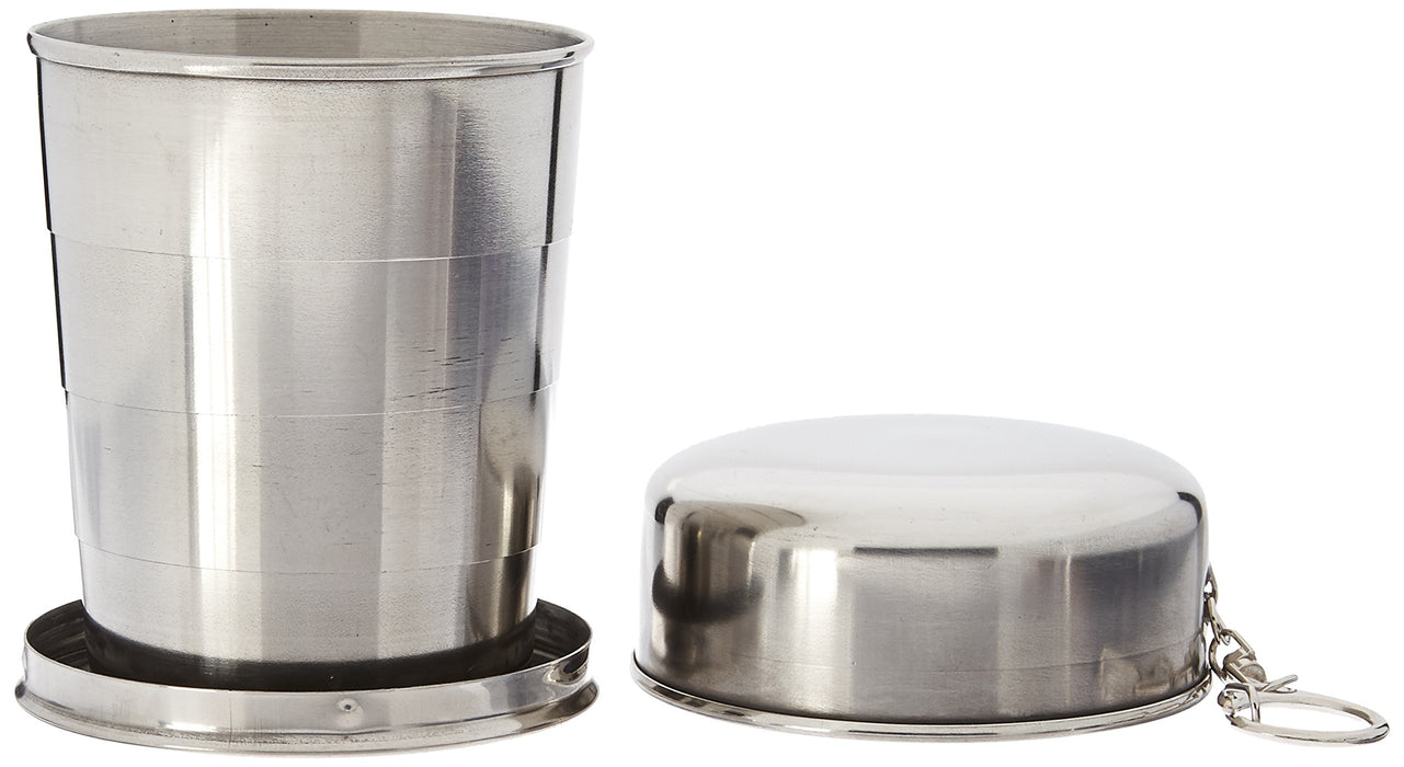 SE OD-CG265BOX Survivor Series Stainless Steel Collapsible Cup with Hard Case (8.5 fl. oz.)