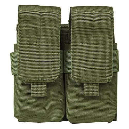 VISM by NcSTAR CV5564MP2976G QUAD MAGAZINE POUCH - GREEN