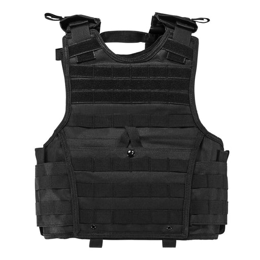 "VISM by NcSTAR CVPCVXC2963B EXPERT PLATE CARRIER VEST (8""x10"" ARMOR PLATE POCKET)/SMALL/ BLACK"