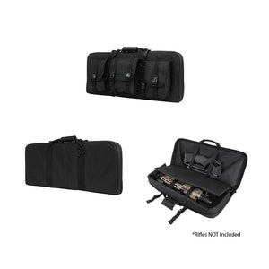 "VISM by NcSTAR CVCPD2962B-28 DELUXE  CASE WITH 3 ACCESSORY POCKETS (28""L X 13""H)/ BLACK"