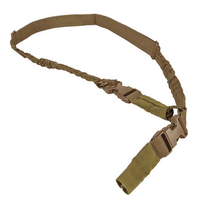 VISM by NcSTAR AARS21PT 2 POINT OR 1 POINT SLING WITH METAL SPRING CLIPS - TAN