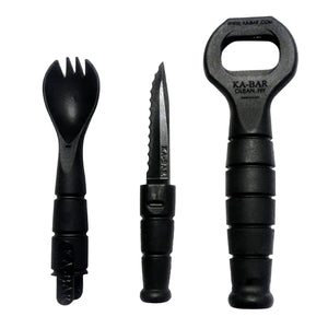 Ka-Bar Military Spork & Bottle Opener - Spoon Fork Knife Combo