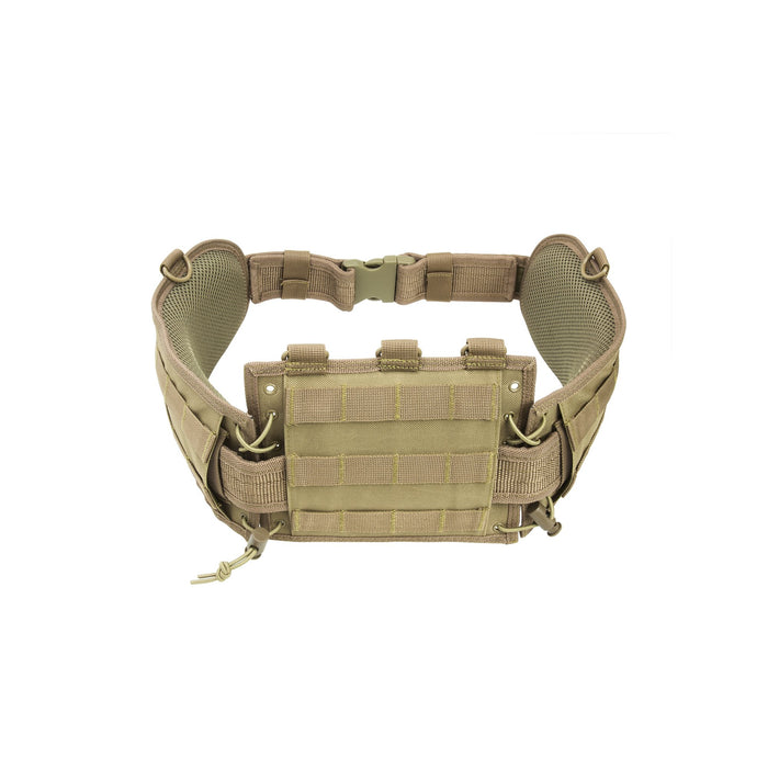 VISM by NcSTAR CVBAB2939T BATTLE BELT W/ PISTOL BELT/TAN