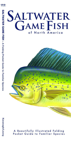 Saltwater Game Fish of North America: A Beautifully Illustrated Folding Pocket Guide to Familiar Species (Pocket Naturalist Guides)