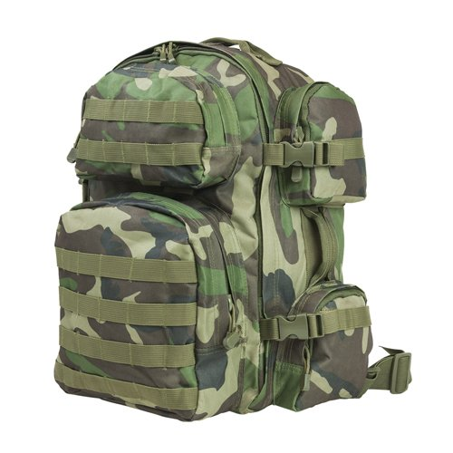 VISM by NcSTAR CBWC2911 TACTICAL BACKPACK/WOODLAND CAMO