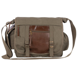 Fox Tactical Deluxe Concealed-Carry Messenger Bag