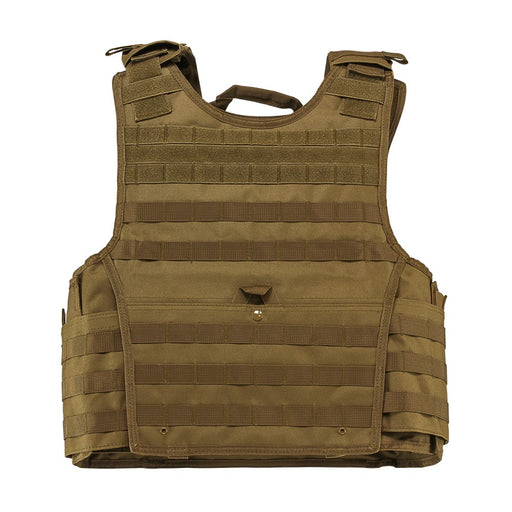 "VISM by NcSTAR CVPCVXL2963T EXPERT PLATE CARRIER VEST (UP TO 11""x14"" ARMOR PLATE POCKET)/EXTRA LARGE/TAN"