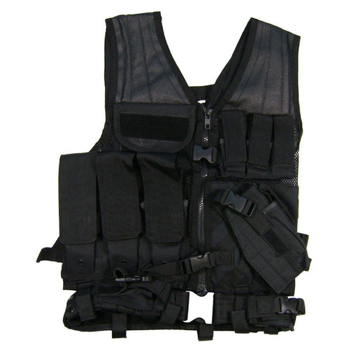VISM by NcSTAR CTV2916B TACTICAL VEST/BLACK  M-XL