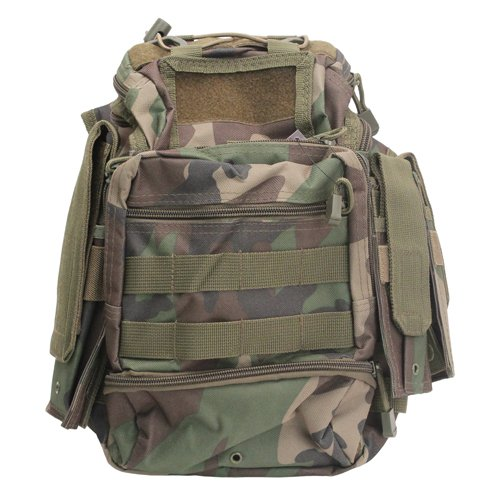 VISM by NcSTAR CVFRB2918WC PVC FIRST RESPONDERS BAG/WOODLAND CAMO