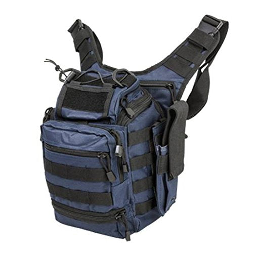 VISM by NcSTAR CVFRB2918BL PVC FIRST RESPONDERS UTILITY BAG/ BLUE w/BLACK TRIM