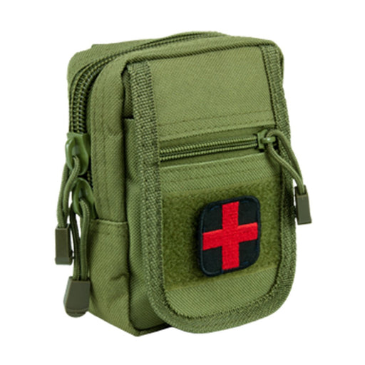 VISM by NcSTAR C1RTK1G-A COMPACT TRAUMA KIT/ LEVEL 1/ GREEN