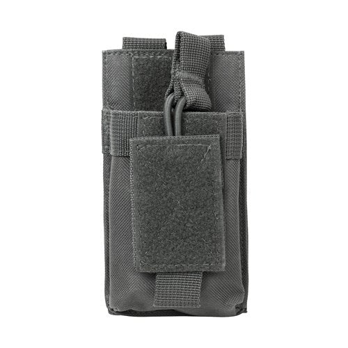 VISM by NcSTAR CVAR1MP2929U AR SINGLE MAG POUCH/URBAN GRAY
