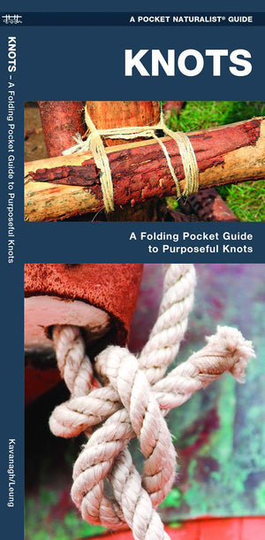 Knots: A Folding Pocket Guide to Purposeful Knots (Outdoor Essentials Skills Guide)