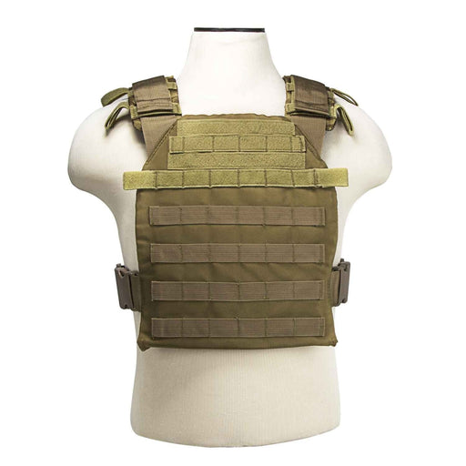 "VISM by NcSTAR CVPCF2995T FAST PLATE CARRIER 10""X12""/ TAN"