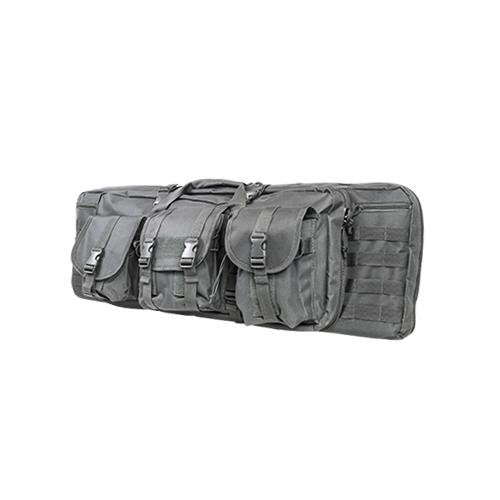 VISM by NcSTAR CVDC2946U-36 DOUBLE CARBINE CASE/URBAN GRAY/36 IN