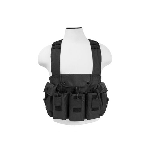 VISM by NcSTAR CVAKCR2921B AK CHEST RIG/BLACK