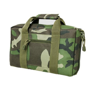 VISM by NcSTAR CPWC2903 DISCREET PISTOL CASE/WOODLAND CAMO