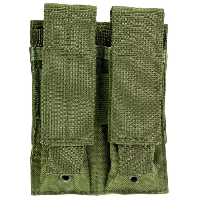 VISM by NcSTAR CVP2P2931G DOUBLE PISTOL MAG POUCH/GREEN