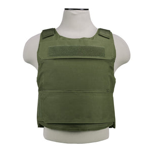 "VISM by NcSTAR CVPCVD2975G DISCRETE PLATE CARRIER (UP TO 11""x14"" ARMOR PLATE POCKET)/ FITS: MED-2XL/ GREEN"