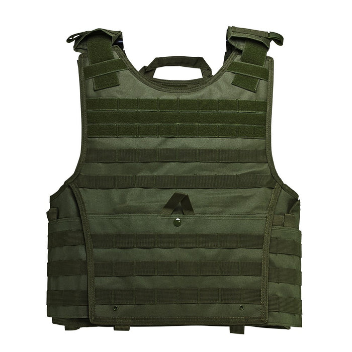 "VISM by NcSTAR CVPCVXL2963G EXPERT PLATE CARRIER VEST (UP TO 11""x14"" ARMOR PLATE POCKET)/EXTRA LARGE/GREEN"