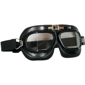 Fox Tactical Royal Air Force Style Goggles Black