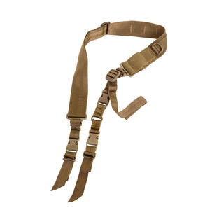 VISM by NcSTAR AARS2PT 2 POINT TACTICAL SLING/TAN