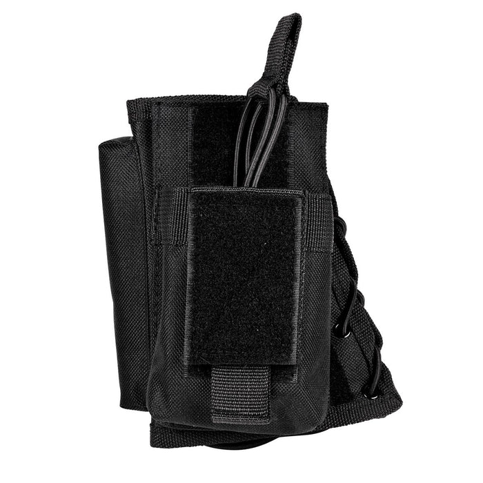 VISM by NcSTAR CVSRMP2925B STOCK RISER WITH MAG POUCH/BLACK