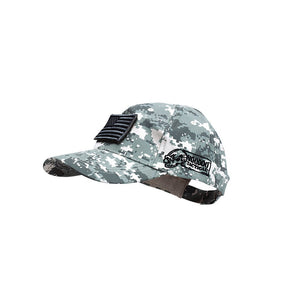 VooDoo Tactical  20-935175000  Cap With Removable Flag Patch Army Digital