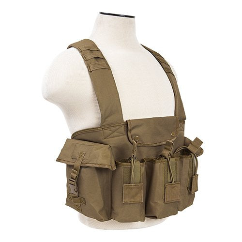 VISM by NcSTAR CVAKCR2921T AK CHEST RIG/TAN